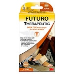 FUTURO Therapeutic Open Toe/Knee Length for Men & Women, Beige, Medium- 1 pr