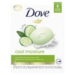 Dove go fresh Beauty Bar, Cucumber & Green Tea, 8 pk- 4 oz