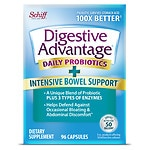 Schiff Digestive Advantage Intensive Bowel Support- 96 ea
