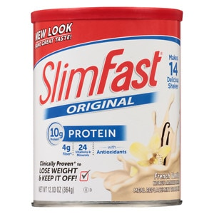 Slim-Fast 3-2-1 Plan Shake Mix, French Vanilla