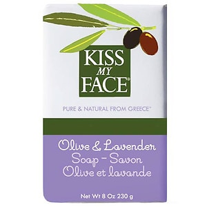 Kiss My Face Olive Oil Bar Soap, Olive & Lavender&nbsp;