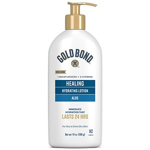 Gold Bond Ultimate Healing Skin Therapy Lotion, Aloe- 14 oz