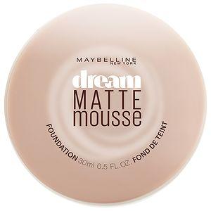Maybelline Dream Matte Mousse Foundation, Honey Beige, .64 oz