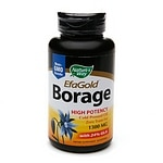 Nature's Way EFA Gold Borage, 1300mg, Softgels- 60 ea