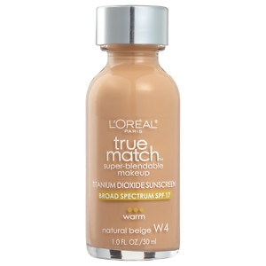 L'Oreal True Match Super-Blendable Makeup, SPF 17, Natural Beige