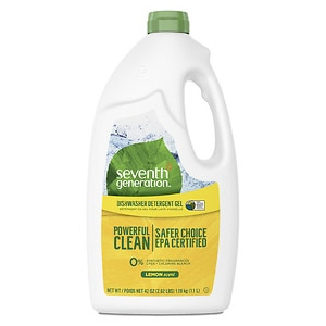 Seventh Generation Automatic Dishwashing Gel, Lemon