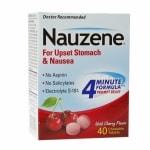 Nauzene Chewable Tablets for Nausea, Wild Cherry- 40 ea