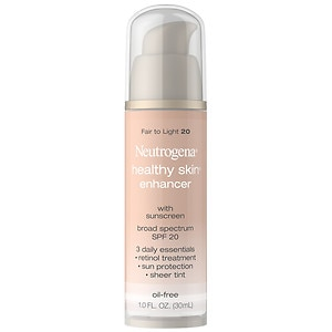 Neutrogena Healthy Skin Enhancer Tinted Moisturizer, Fair to Light 20- 1 fl oz