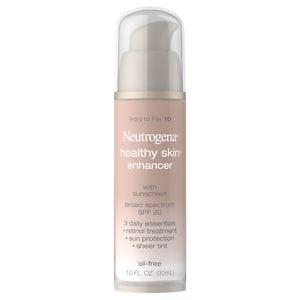 Neutrogena Healthy Skin Enhancer Tinted Moisturizer, Ivory to Fair 10