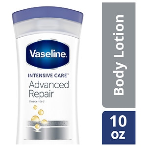 Vaseline Intensive Rescue Advanced Repair Lotion, Fragrance Free