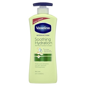 Vaseline Intensive Care Aloe Soothe Non-Greasy Lotion, Aloe Fresh