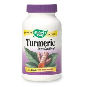 Nature's Way Turmeric Standardized, Tablets- 120 ea