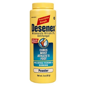 Desenex Antifungal Powder, Cures Athlete's Foot, 2% Miconazole Nitrate- 3 oz