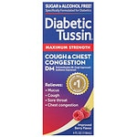 Diabetic Tussin DM Maximum Strength Cough Suppressant Expectorant