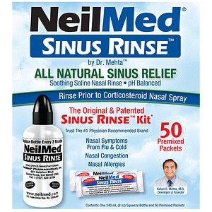 NeilMed Sinus Rinse Regular Kit- 1 kit