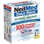 NeilMed Sinus Rinse Regular Refill Packets- 100 ea