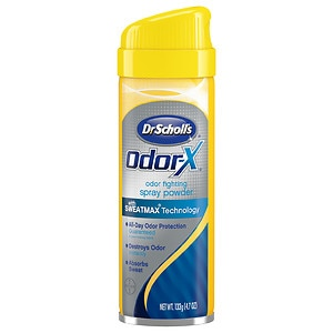 Dr. Scholl's Odor-X Odor Fighting Spray Powder- 4.7 oz
