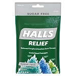 Halls Defense Sugar Free Drops, Assorted Mint- 25 ea