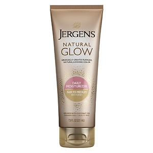 Jergens Natural Glow Revitalizing Daily Moisturizer, Fair to Medium Skin Tone