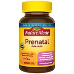 Nature Made Multi Prenatal, Tablets- 90 ea