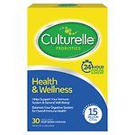 Culturelle Probiotic Health & Wellness, Capsules- 30 ea