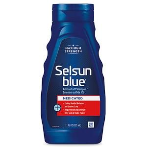 Selsun Blue Dandruff Shampoo, Medicated Treatment- 11 fl oz