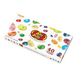 Jelly Belly Gourmet Jelly Bean Gift Box, 40 Flavors- 17 oz