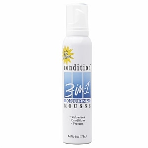 Condition 3-in-1 Mousse Moisturizing, Extra Care- 6 oz