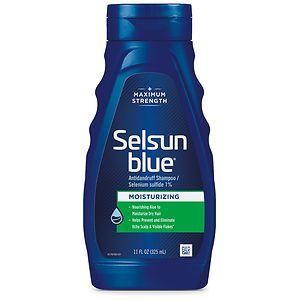 Selsun Blue Dandruff Shampoo, Moisturizing Treatment- 11 fl oz