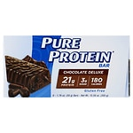 Pure Protein Snack Bar, 6 pk, Chocolate Deluxe- 1.75 oz