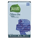 Seventh Generation Chlorine Free Maxi Pads, Regular- 24 ea