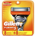 Gillette Fusion Power Razor Refill Cartridges- 8 ea