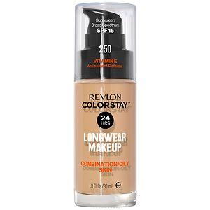 Revlon Colorstay for Combo/Oily Skin Makeup, Fresh Beige 250- 1 fl oz