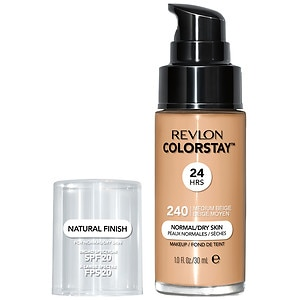 Revlon Colorstay for Normal/Dry Skin Makeup with SoftFlex, Medium Beige 240