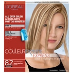 L'Oreal Couleur Experte Express Easy Color + Highlights in a Flash, Iced Meringue, Medium Iridescent Blonde 8.2