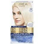 L'Oreal Paris Excellence Blonde Supreme Creme Haircolor, Extra Light Natural Blonde 02- 1 ea