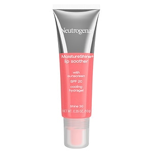Neutrogena MoistureShine Lip Soother with SPF 20, Shine