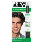 Just For Men Shampoo-In Haircolor, Darkest Brown H-50