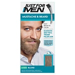 Just For Men Brush-In Color Gel for Mustache & Beard, Sandy Blond M-10