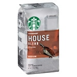 Starbucks Medium Roast, House Blend, Ground- 12 oz