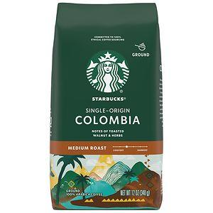 Starbucks Medium Roast, Columbia, Ground