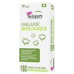Swisspers Organic Biodegradable Cotton Swabs- 180 ea
