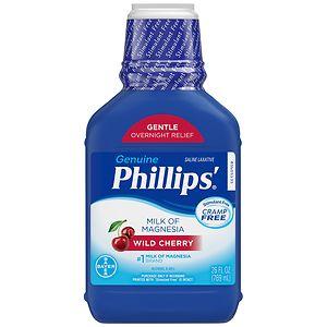Phillips Milk Of Magnesia Cherry Drugstore Com