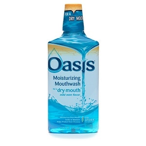 Oasis Moisturizing Mouthwash for Dry Mouth, Mild Mint