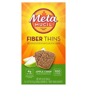Metamucil Fiber Wafers, Apple Crisp