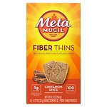 Metamucil Fiber Wafers, Cinnamon Spice- 24 ea