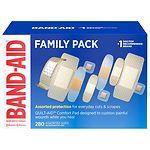 Band-Aid Adhesive Bandages Variety Pack, Assorted Sizes- 280 ea