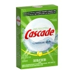 Cascade Dishwasher Detergent with Dawn, Powder, Lemon Scent- 2.81 lb
