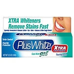 Plus White Toothpaste, Xtra Whitening, Gel, Cool Mint