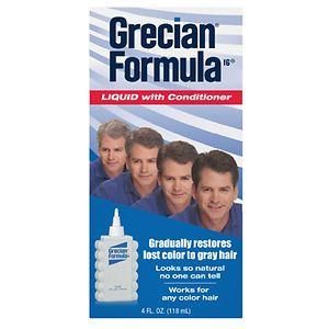 Grecian Formula 16 Liquid with Conditioner- 4 fl oz
